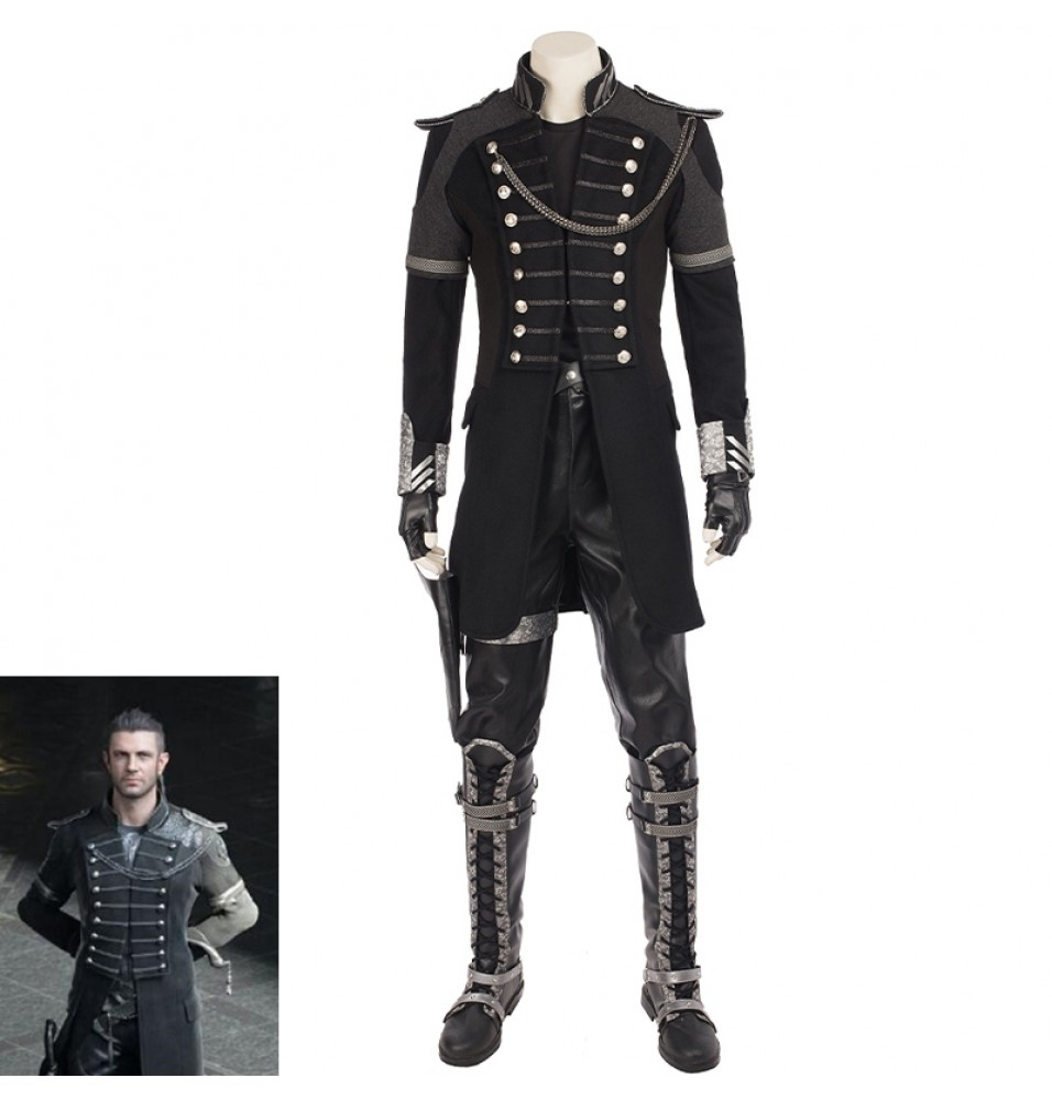 Final Fantasy XV Kingsglaive Nyx Ulric Cosplay Costume Full Set