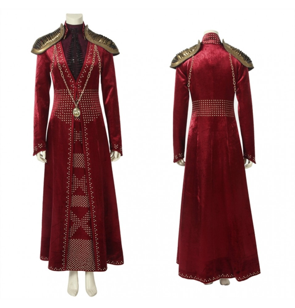 Game of Thrones 8 Cersei Lannister Costume Deluxe Cosplay