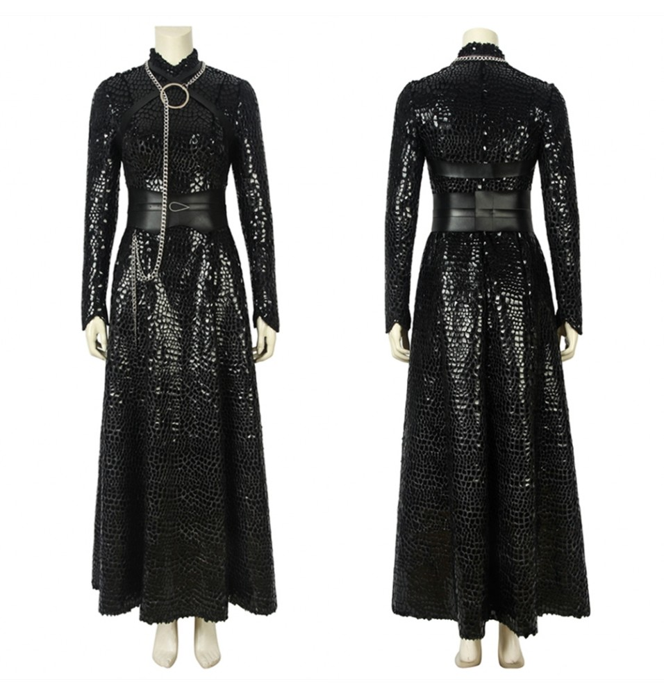 Game of Thrones 8 Sansa Stark Cosplay Costume Deluxe Version