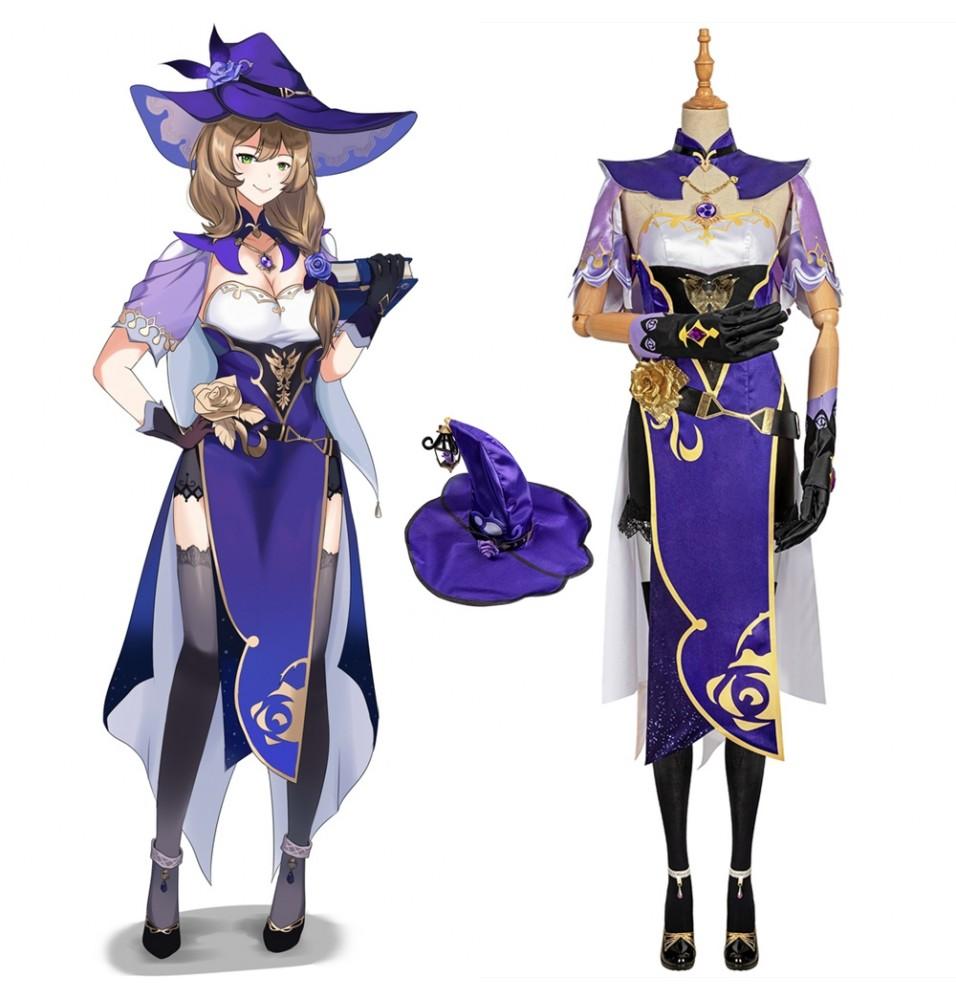 Genshin Impact Lisa Cosplay Costume