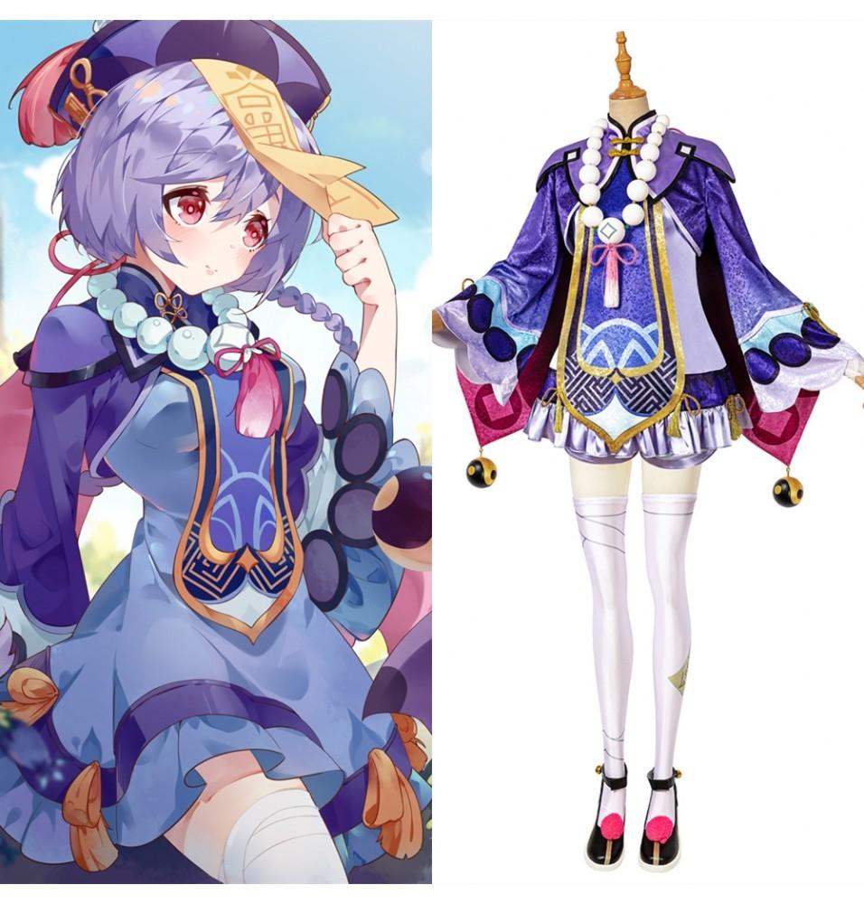 Genshin Impact QiQi Cosplay Costume