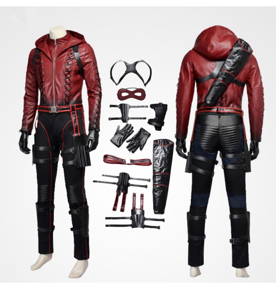 Green Arrow Red Arrow Roy Harper Cosplay Costume