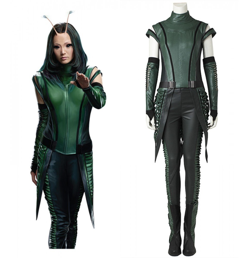Guardians of The Galaxy 2 Mantis Lorelei Cosplay Costume Deluxe