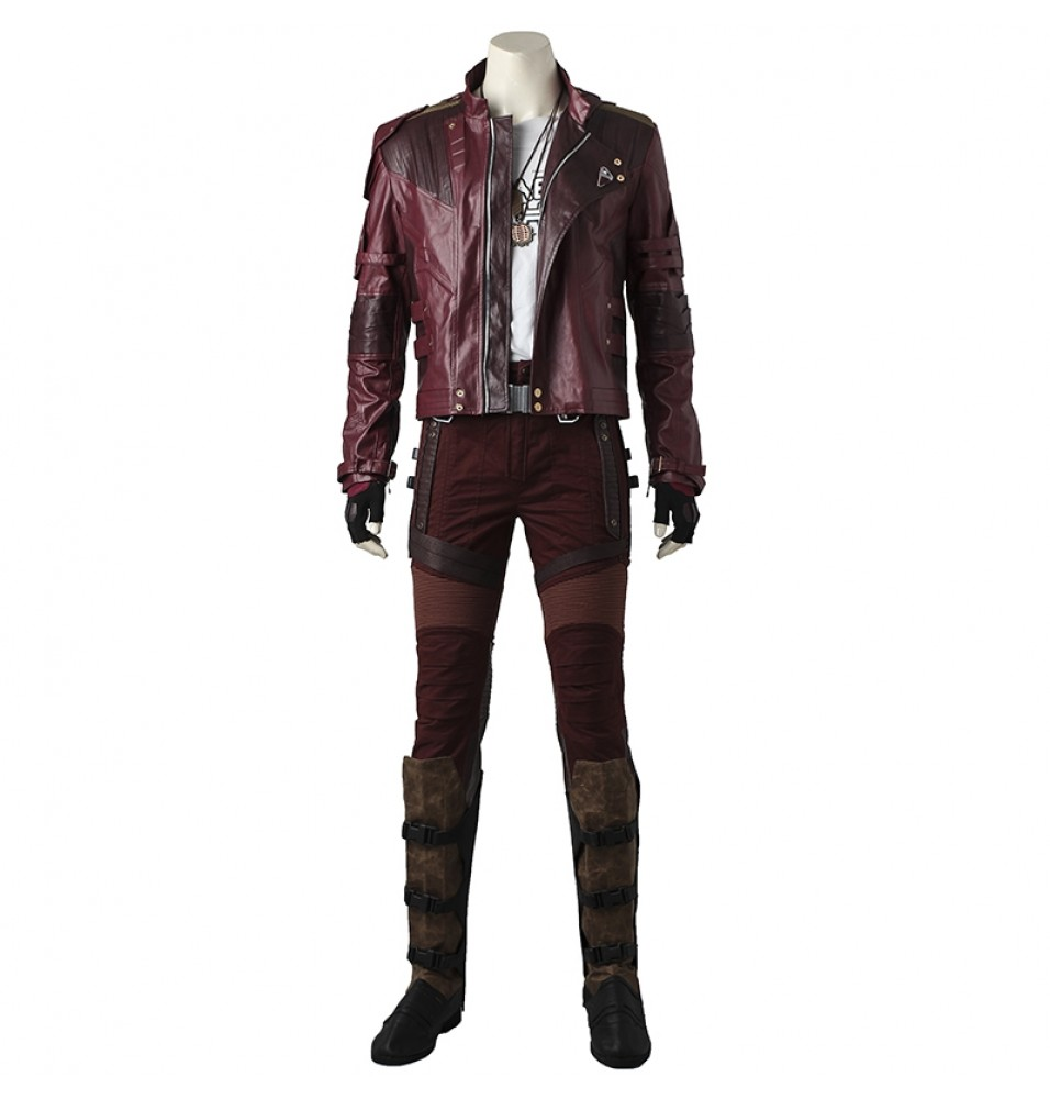 Guardians Of The Galaxy 2 Star Lord Cosplay Costume Deluxe Outfit