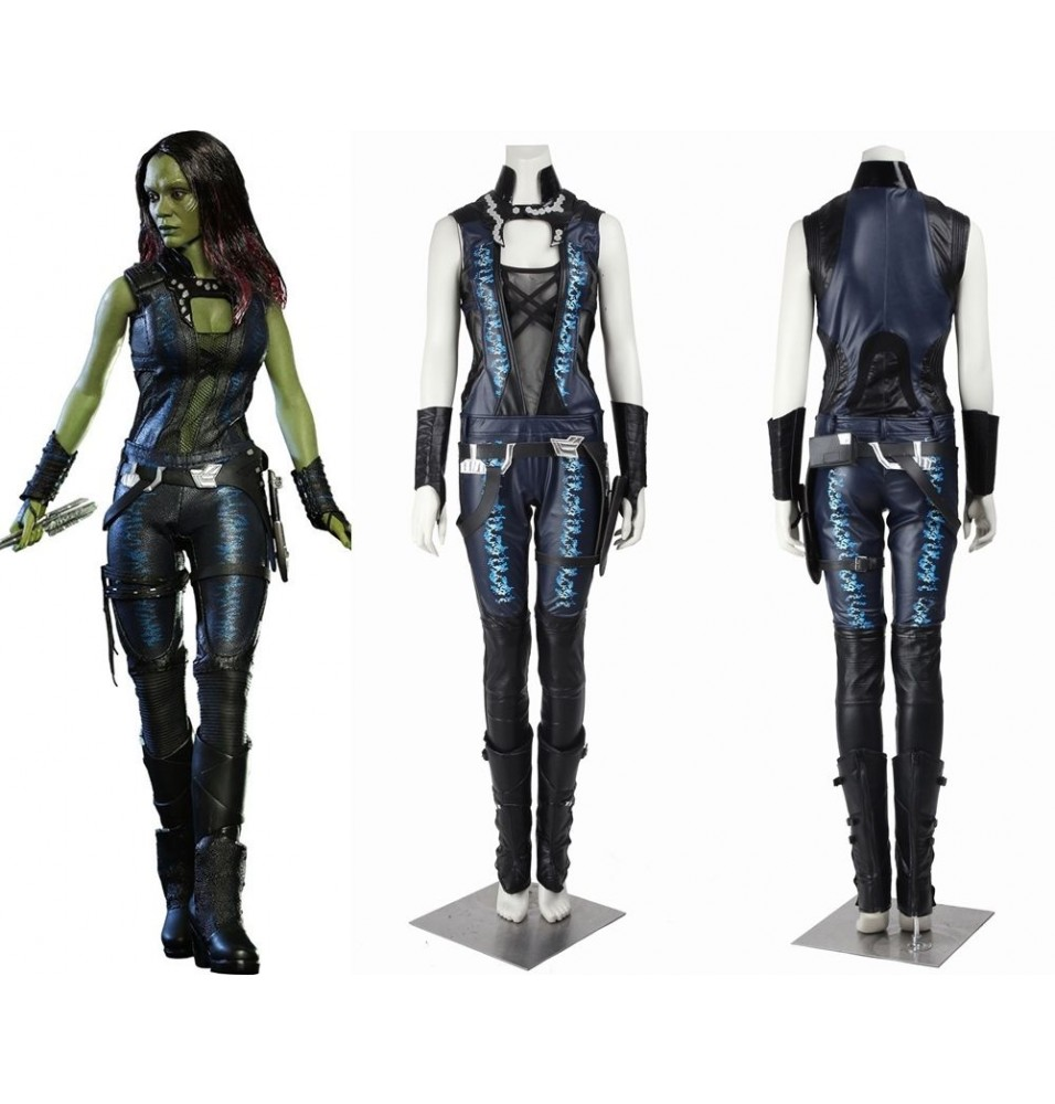 Guardians of the Galaxy Gamora Cosplay Costume Deluxe