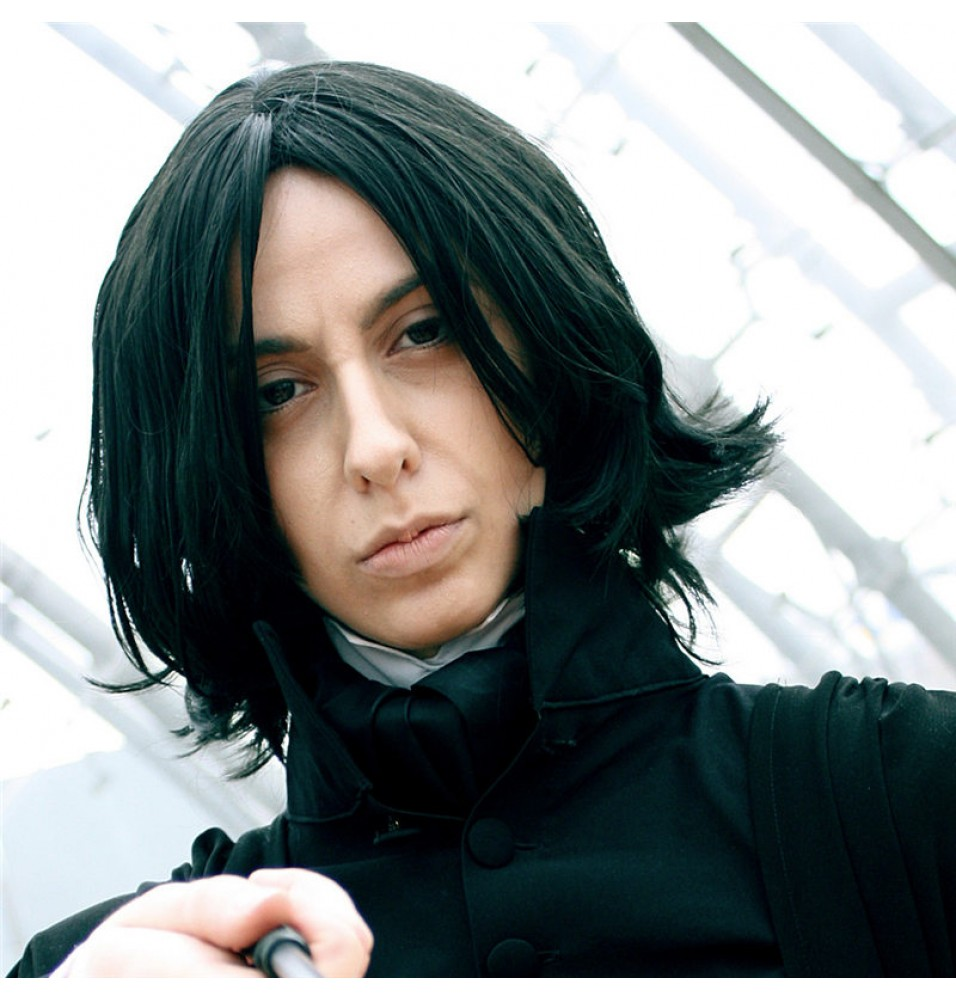 Harry Potter Severus Snape Wigs Cosplay