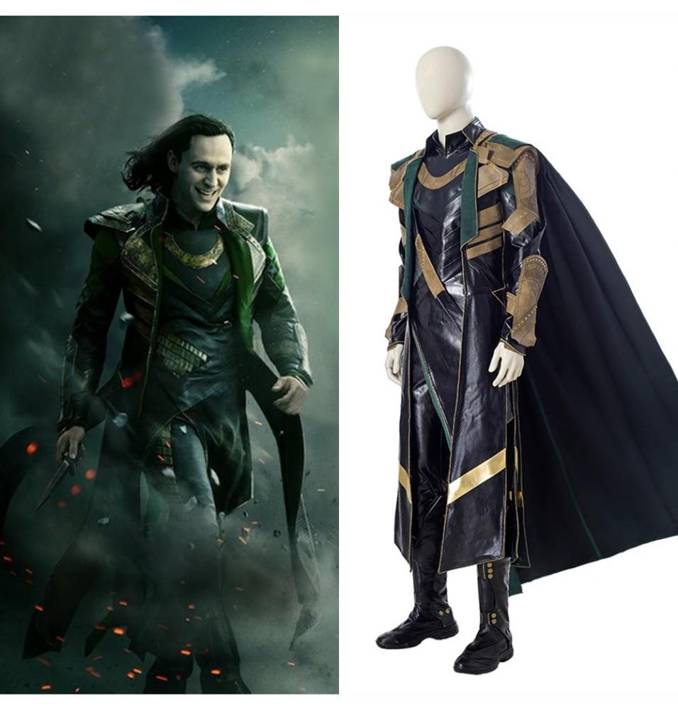 Loki Season 1 Loki Cosplay Costume Deluxe Outfit