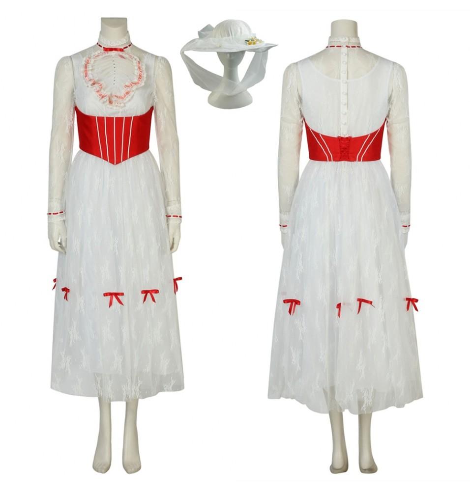Mary Poppins Returns Mary Poppins Cosplay Dress