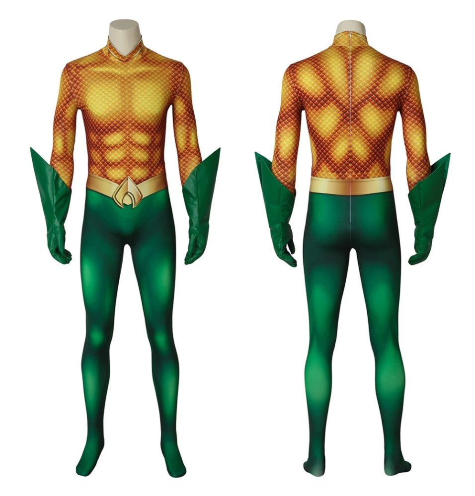Movie Aquaman Arthur Curry 3D Jumpsuit