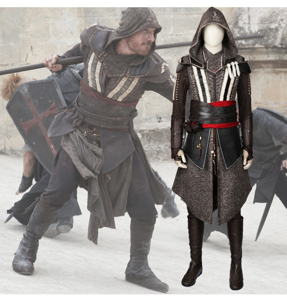 Movie Assassin's Creed Callum Lynch Cosplay Costume Deluxe Outfit