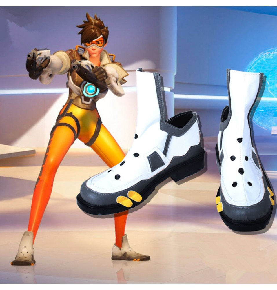 Overwatch Tracer Cosplay Shoes