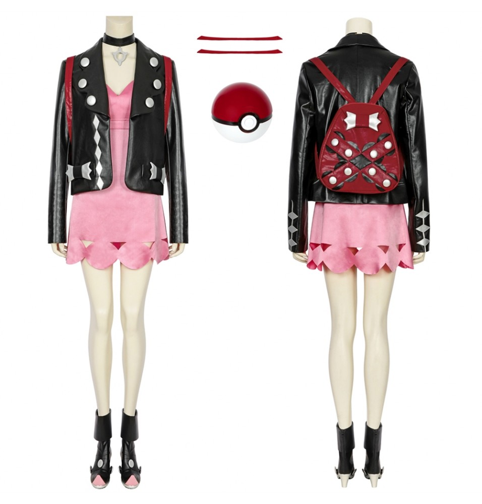 Pokemon Sword and Shield Mary Cosplay Costume