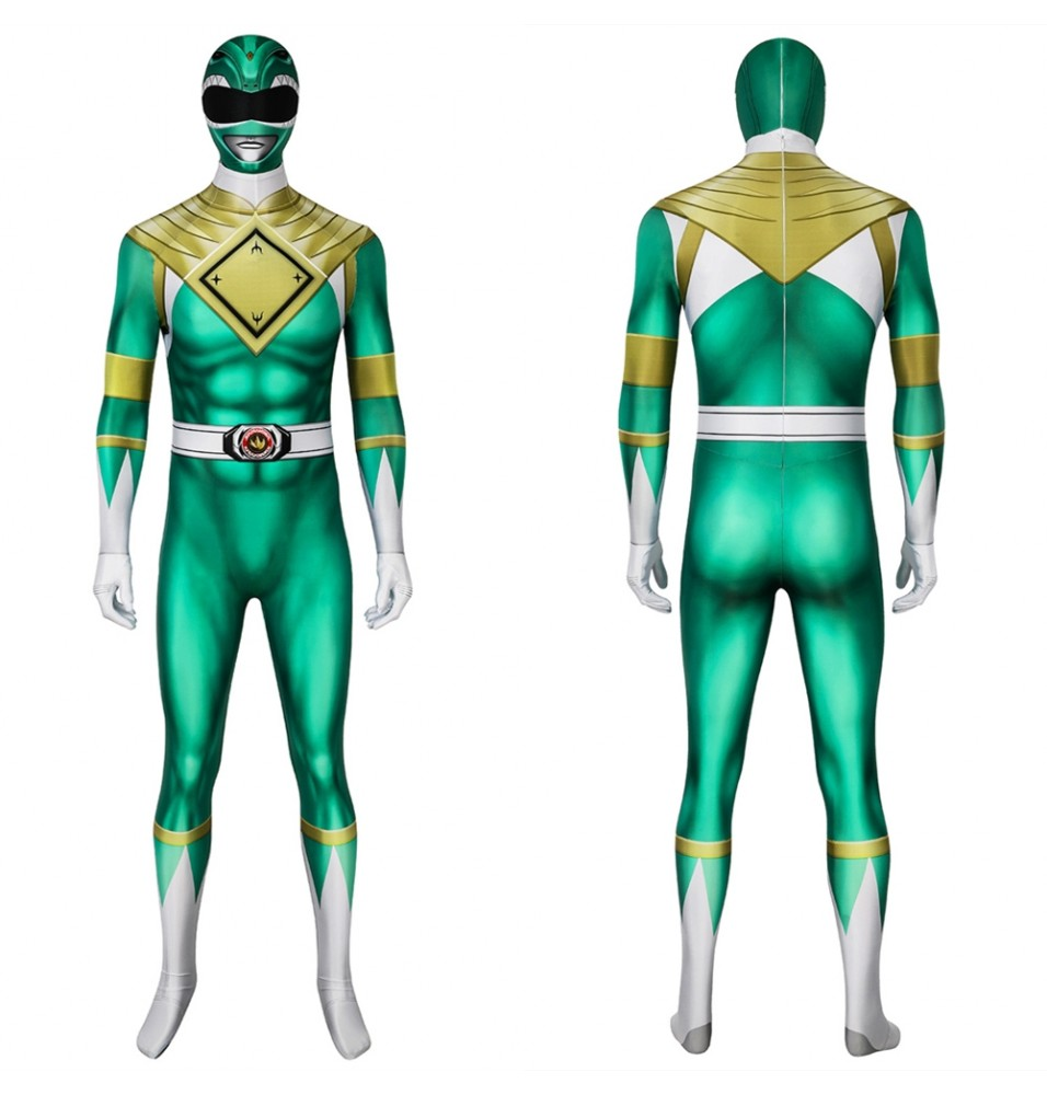 Power Rangers Bura Dragon Ranger 3D Jumpsuit