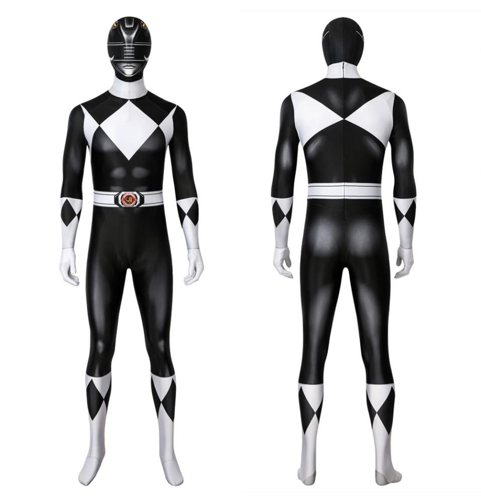 Power Rangers Zack Black Ranger 3D Jumpsuit