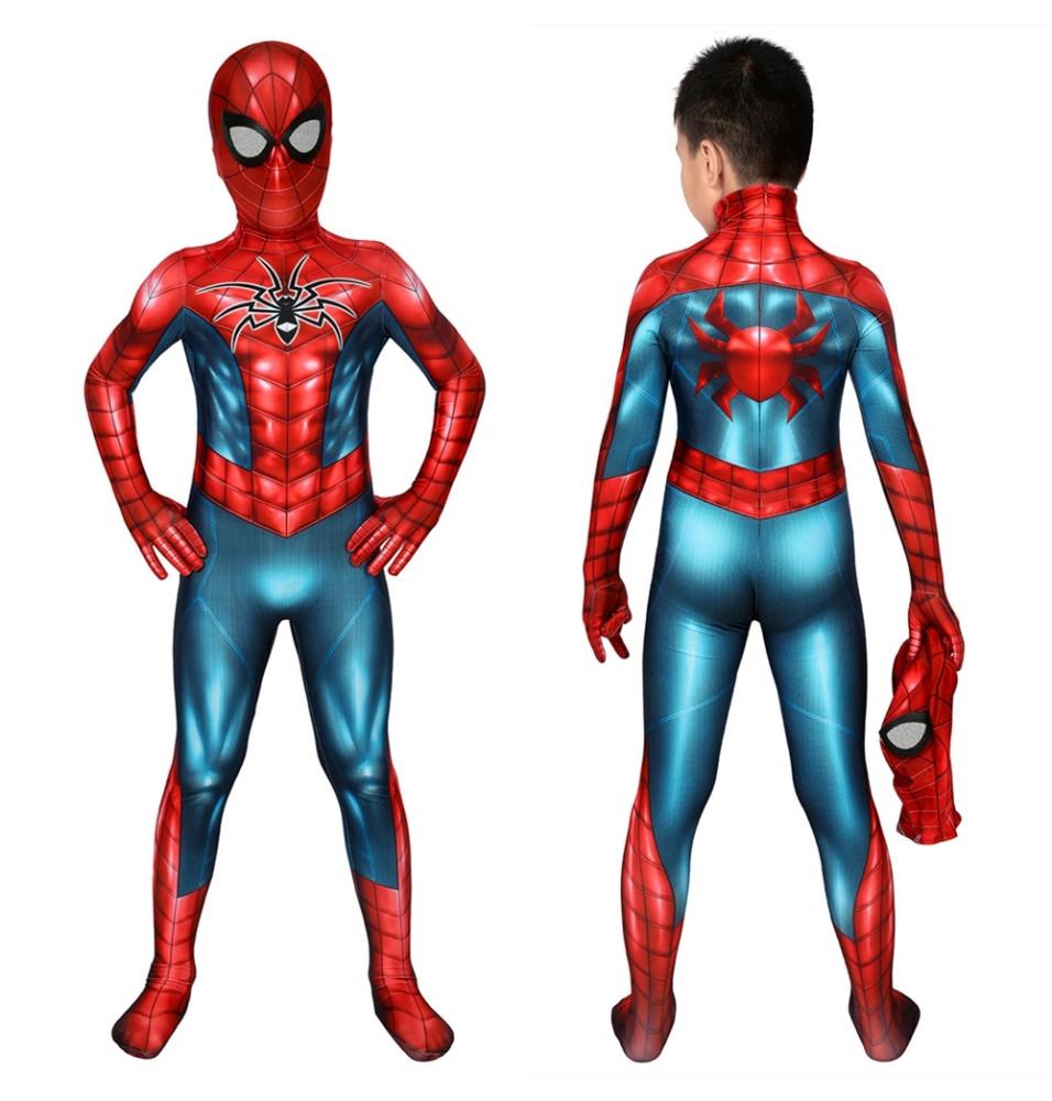 PS4 Spider-Armor MK IV Spider-Armor Kids 3D Jumpsuit