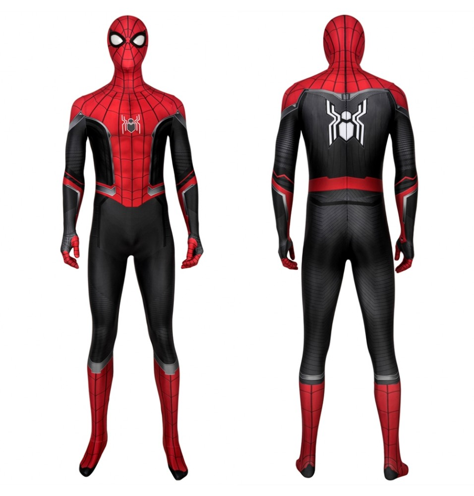 Spider-Man: Far From Home Peter Parker 3D Zentai Jumpsuit