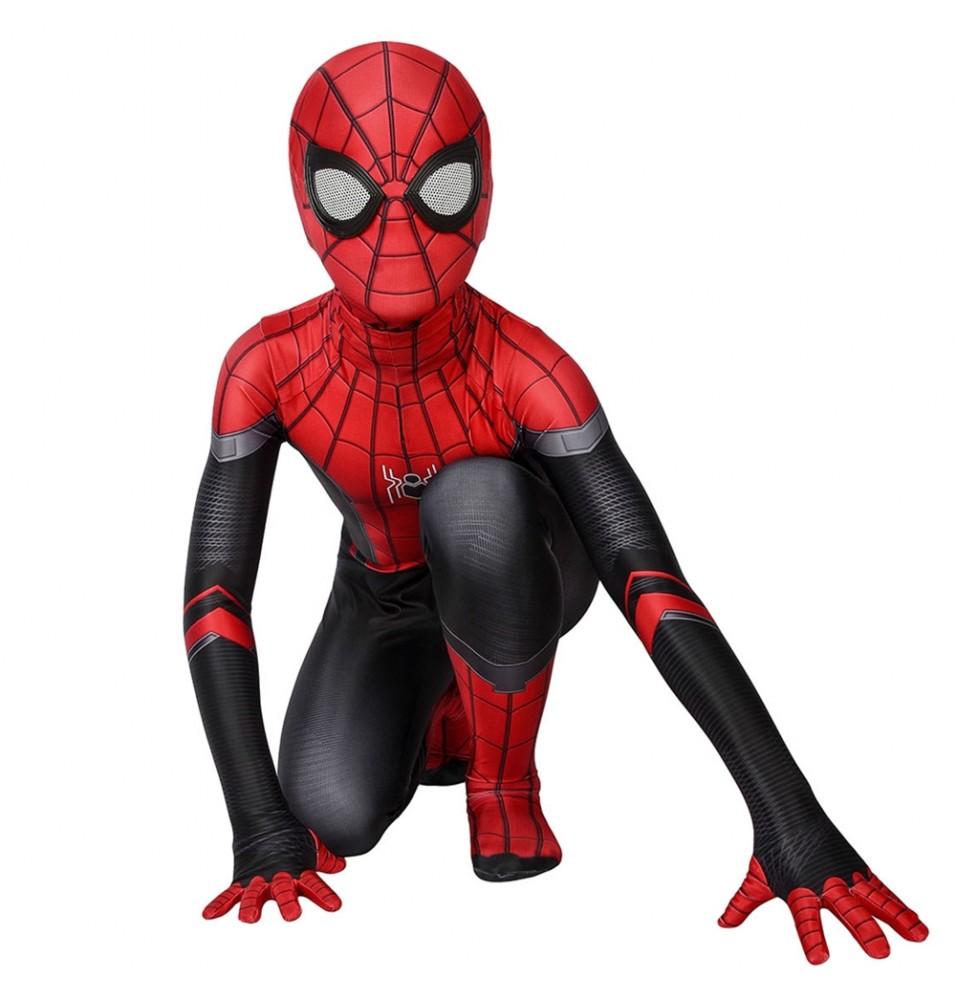 Spider-Man Far From Home Spider-Man Kids 3D Zentai Jumpsuit