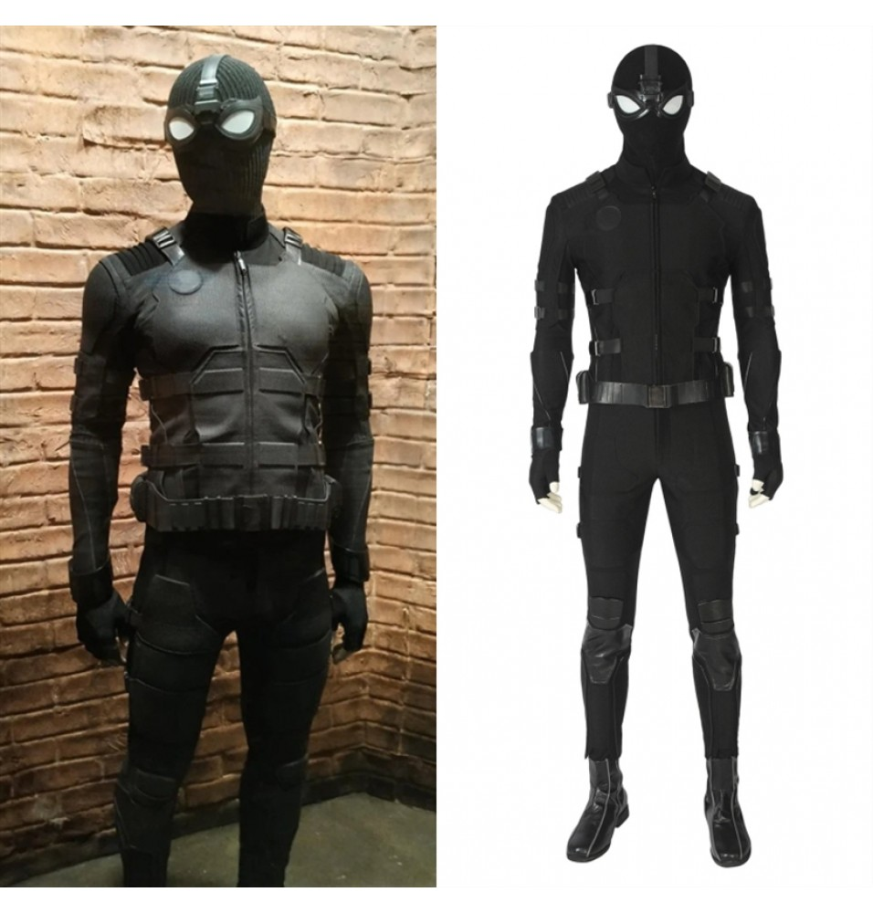 Spider-Man: Far From Home Spiderman Cosplay Costume Stealth Outfit