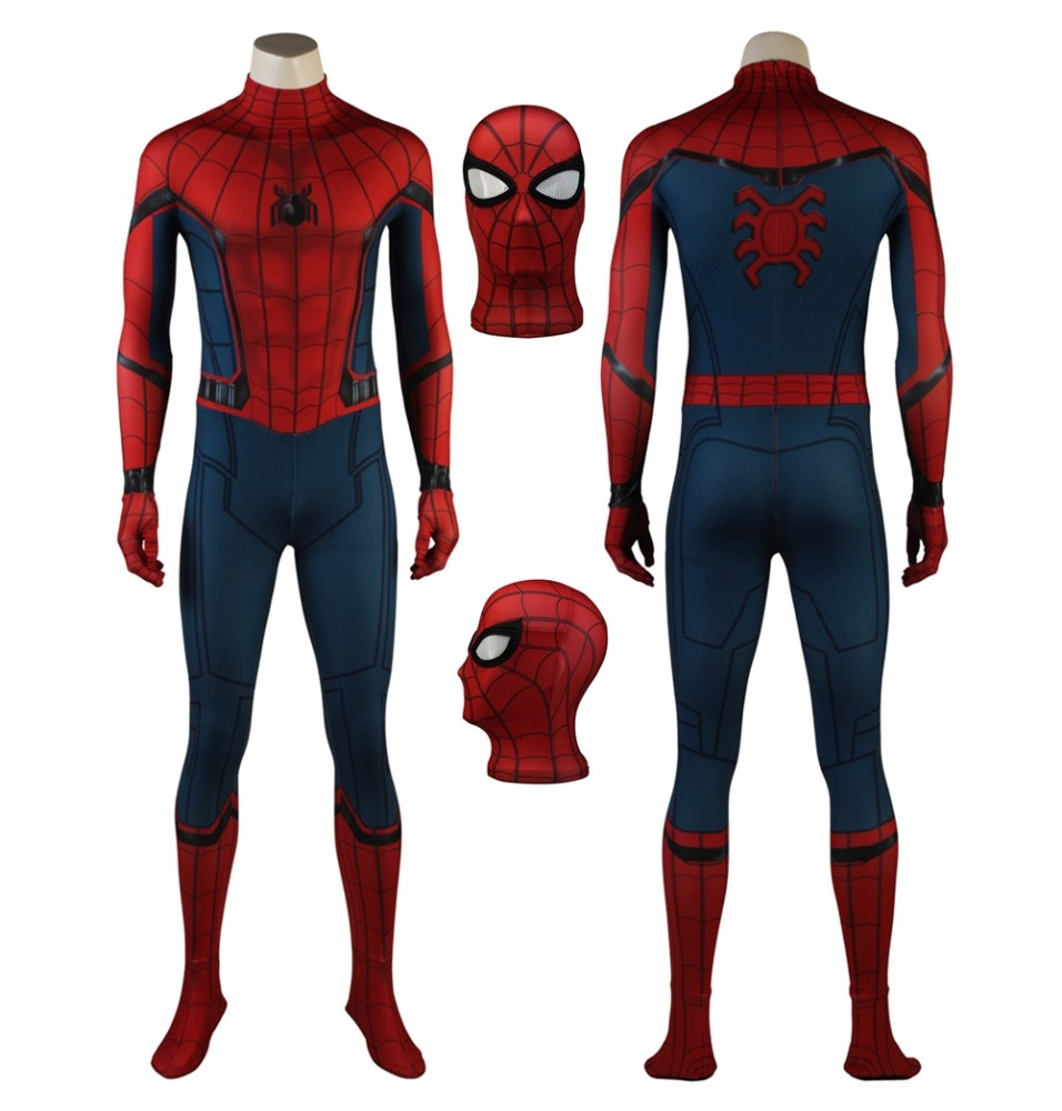 Spider-Man Homecoming Spiderman 3D Zentai Suit