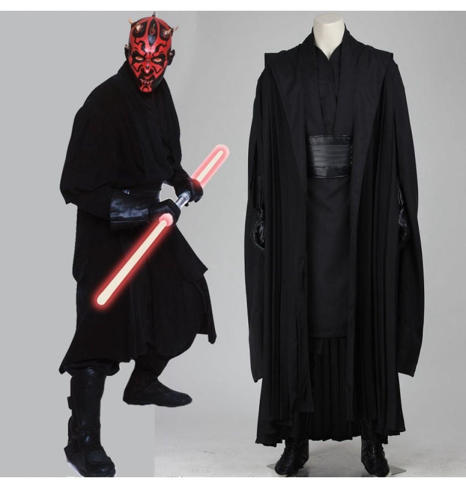 Star Wars I The Phantom Menace Darth Maul Cosplay Costume