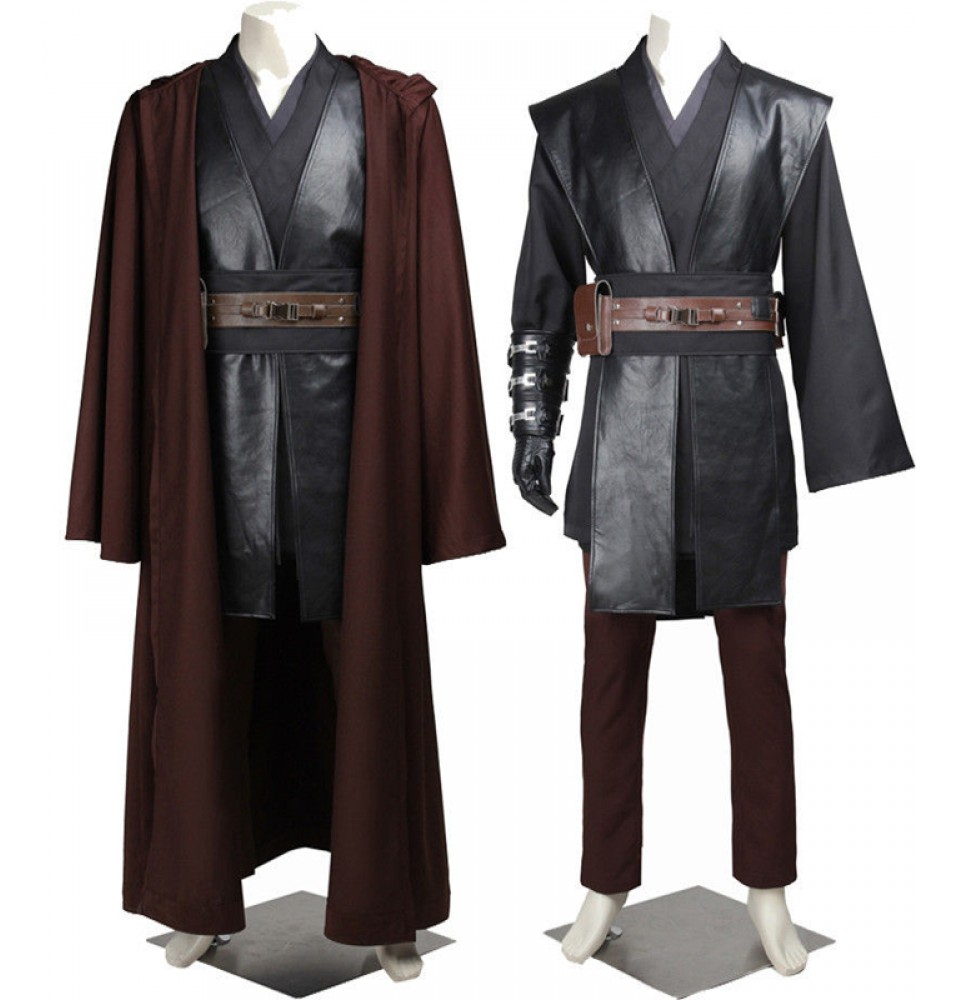 Star Wars III Revenge of the Sith Anakin Skywalker Cosplay Costume Deluxe