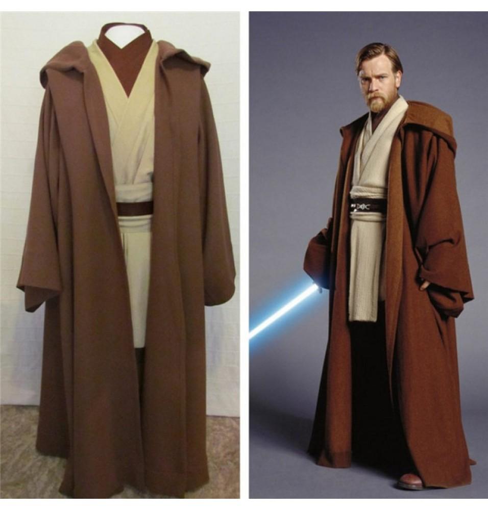 Star Wars Obi-Wan Jedi Master Cosplay Costumes