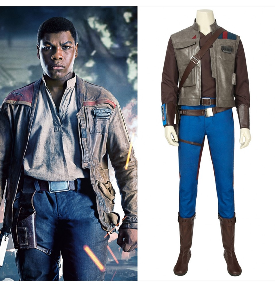 Star Wars The Rise of Skywalker Finn Cosplay Costume