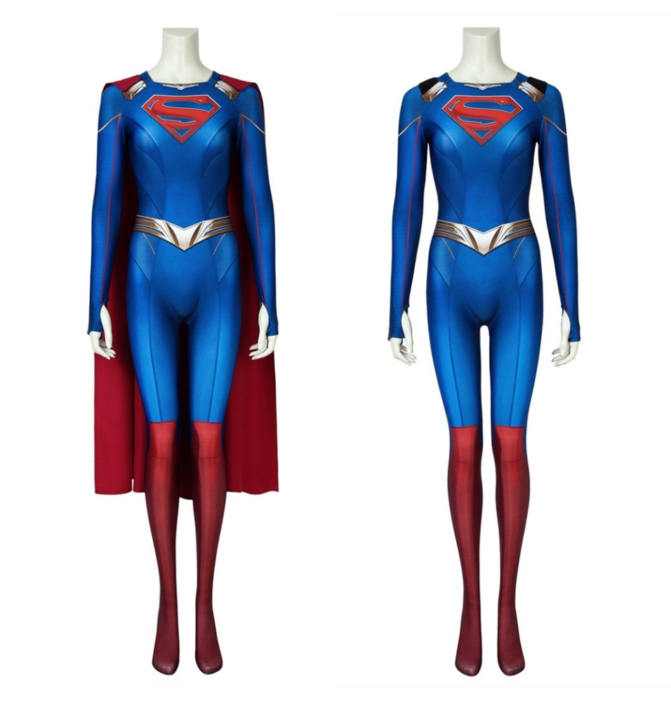 Supergirl Season 5 Kara Zor-El 3D Jumpsuit