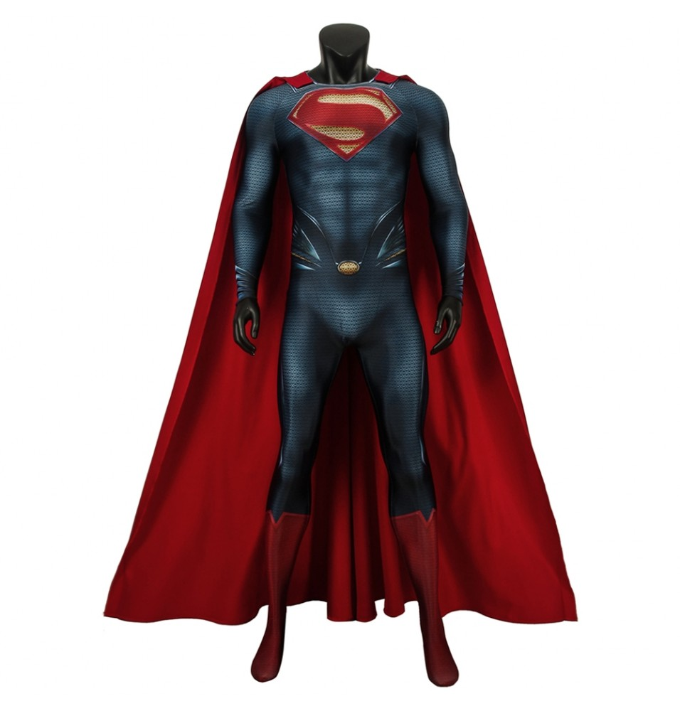 Superman: Man of Steel Superman Clark Kent 3D Jumpsuit