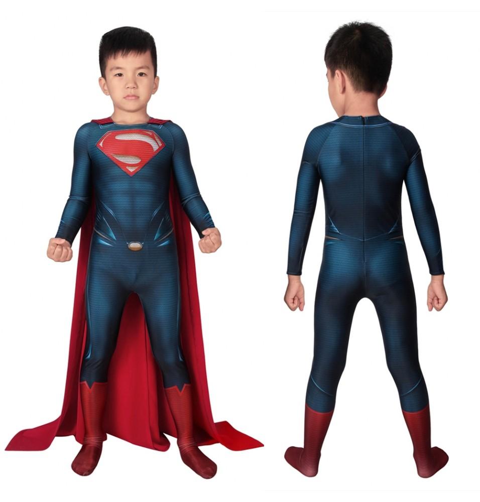 Superman: Man of Steel Superman Kids 3D Jumpsuit