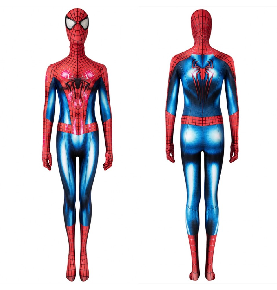 The Amazing Spider-Man 2 Peter Parker Female 3D Jumpsuit