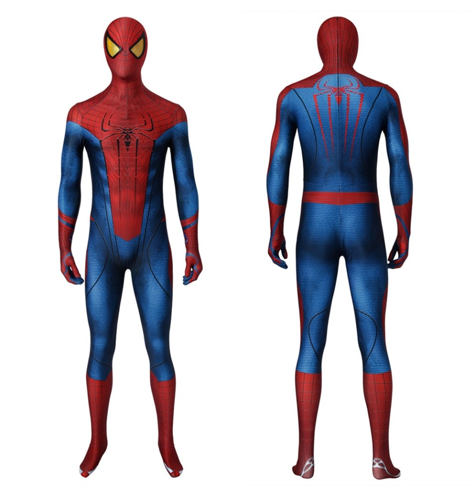 The Amazing Spider-Man Peter Parker 3D Jumpsuit Zentai