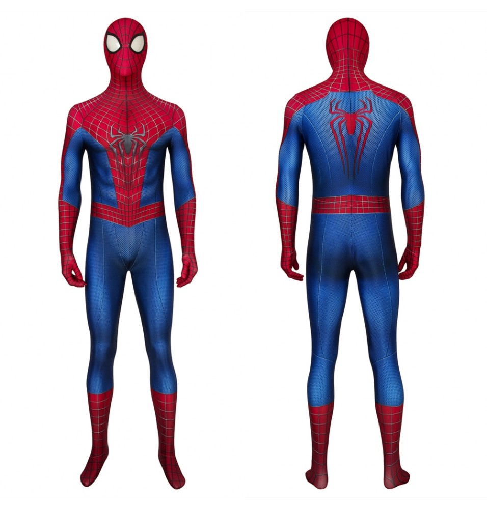 The Amazing Spider-Man Peter Parker 3D Zentai Jumpsuit