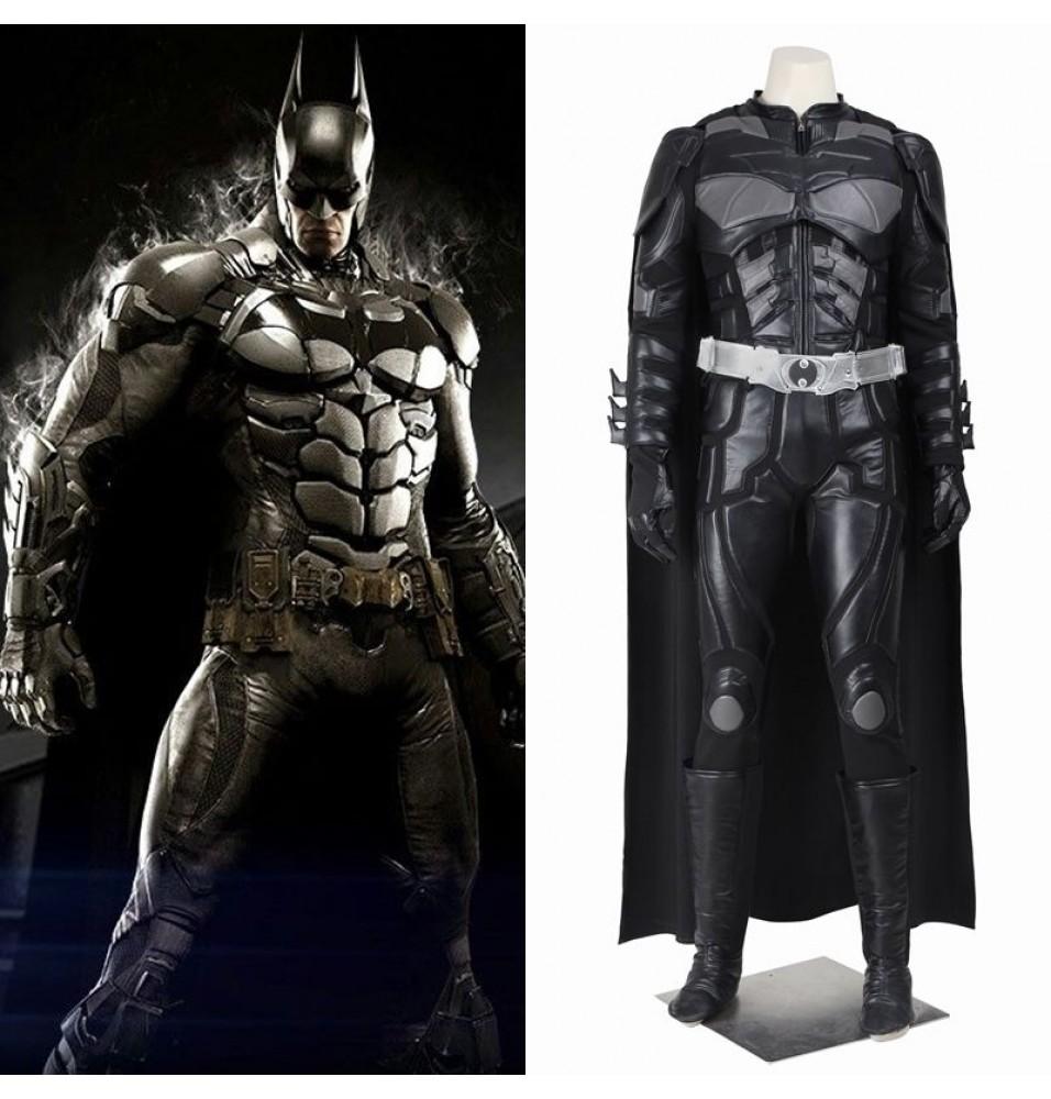 The Dark Knight Rises Batman Bruce Wayne Cosplay Costume