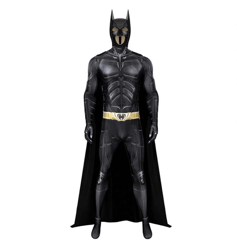 The Dark Knight Rises Bruce Wayne Batman 3D Jumpsuit