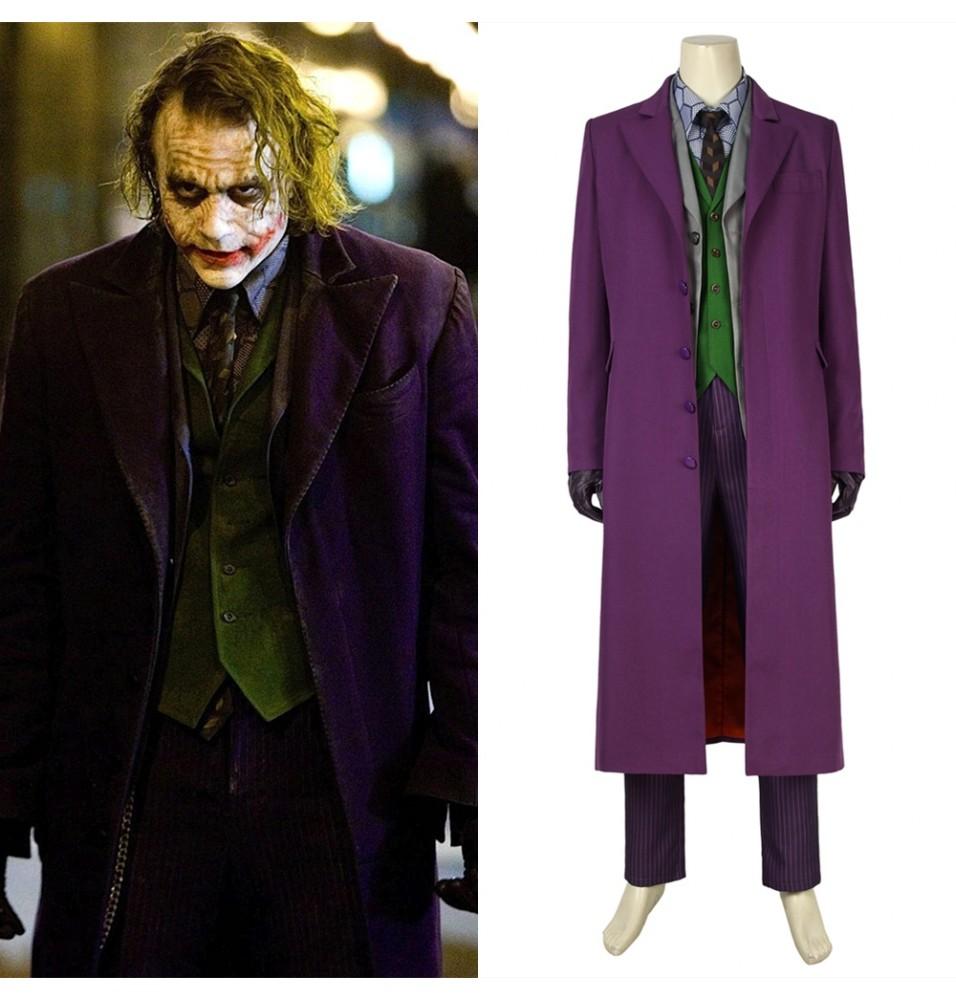 The Dark Knight The Joker Cosplay Costume
