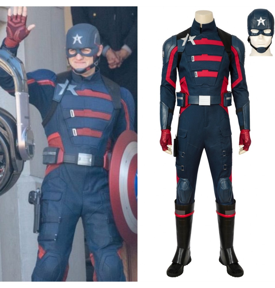 The Falcon and the Winter Soldier US Agent Cosplay Costume
