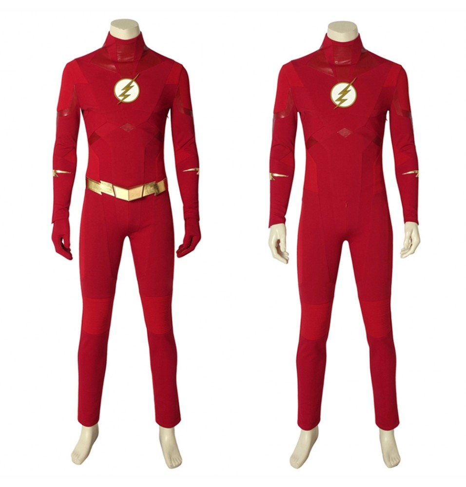 The Flash 5 Barry Allen Cosplay Costume