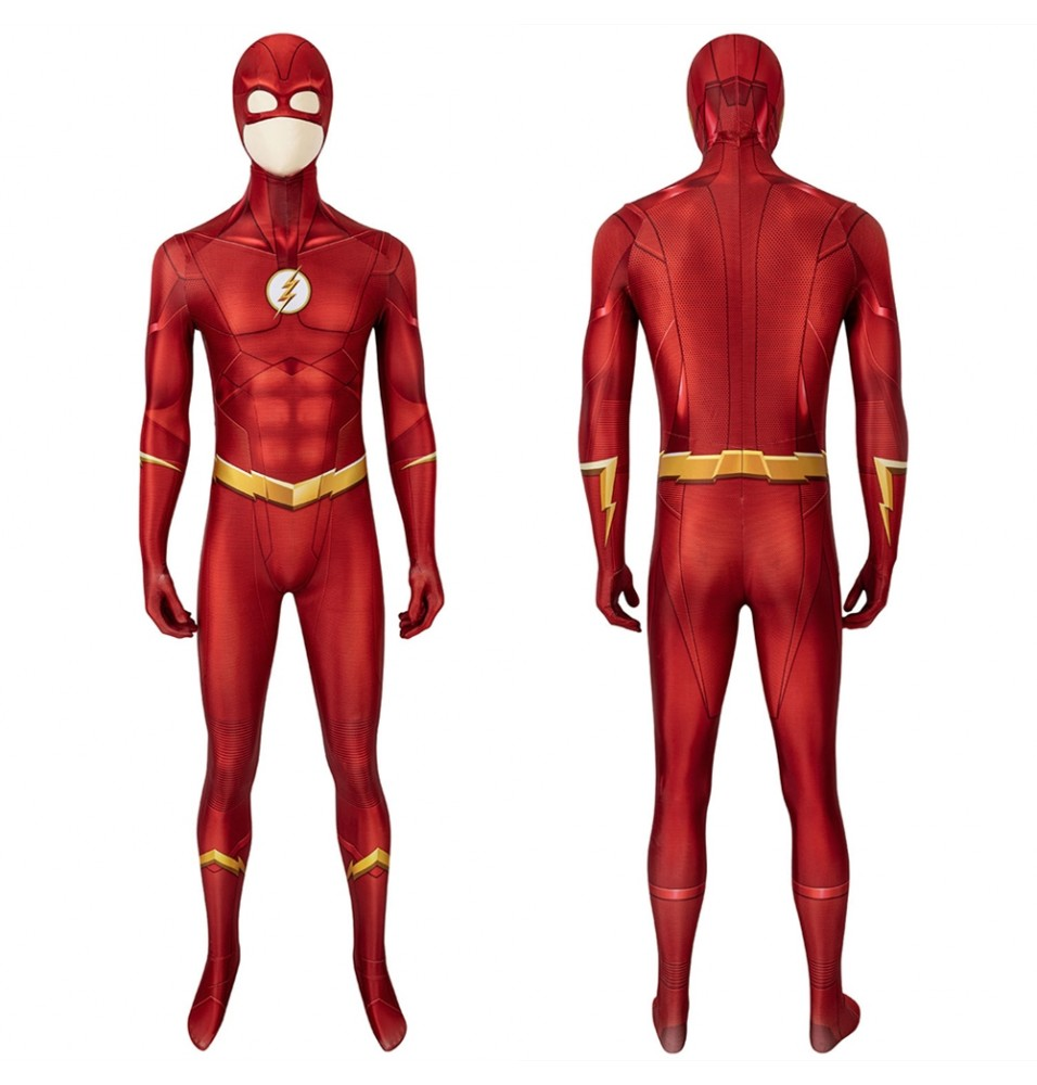 The Flash Season 5 Barry Allen 3D Jumpsuit
