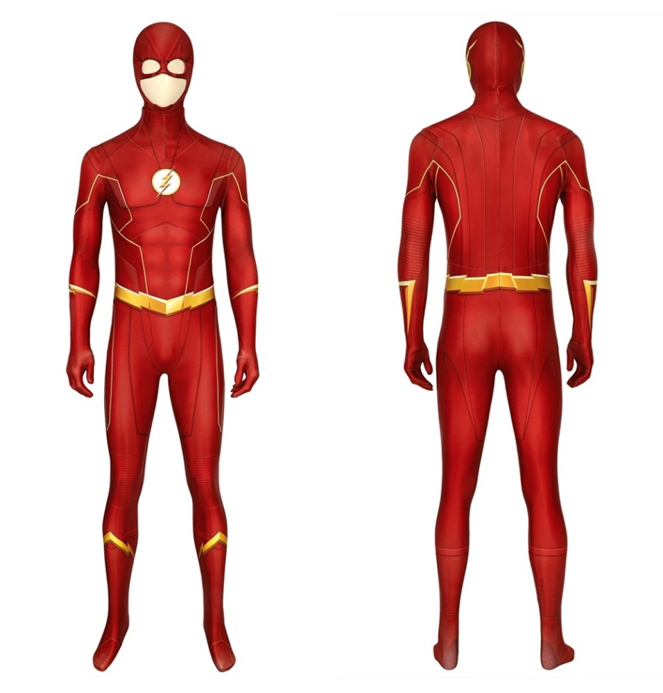 The Flash Season 6 Barry Allen 3D Cosplay Jumpsuit
