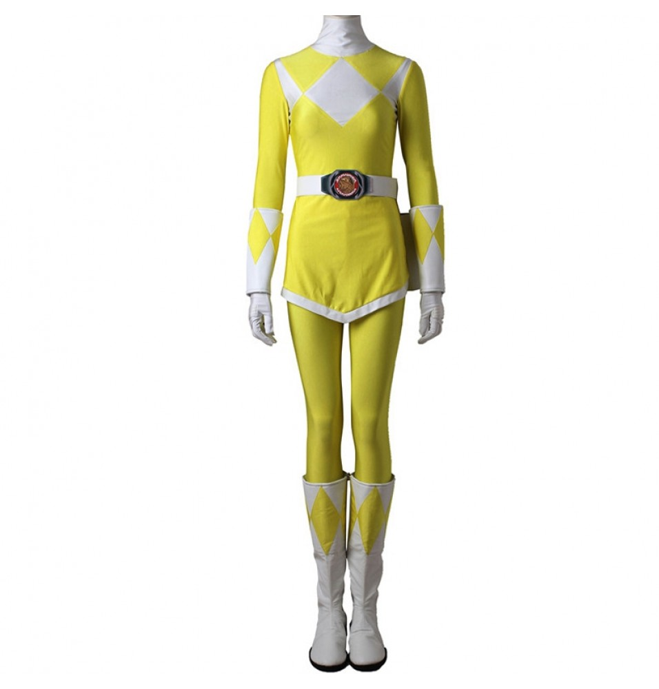 Tiger Ranger Costume Power Rangers Female KYORYUSENTAI ZYURANGER Costume