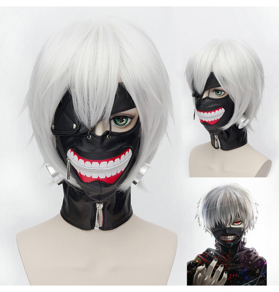 Tokyo Ghoul Kaneki Ken Deluxe Cosplay Mask