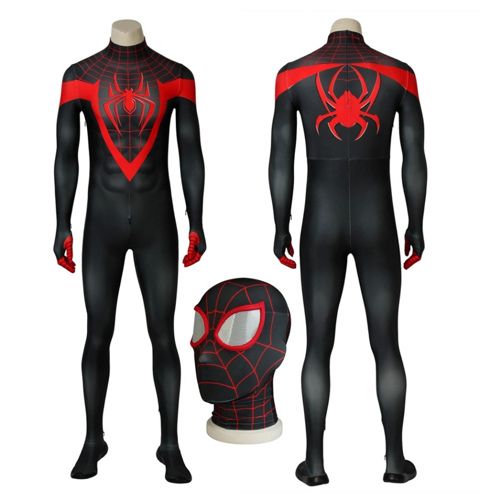 Ultimate Spider-Man Miles Morales 3D Zentai Jumpsuit