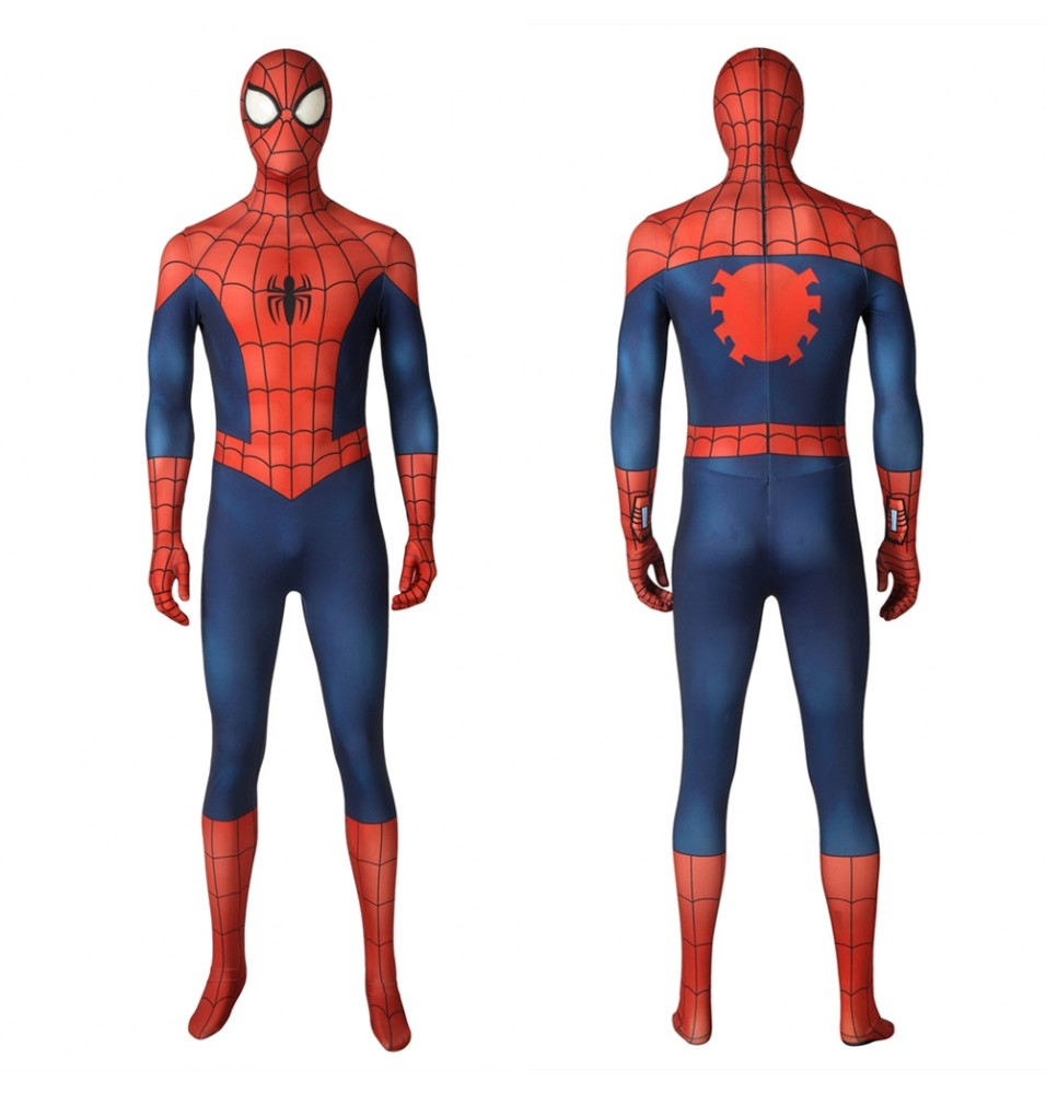 Ultimate Spider-Man Peter Parker 3D Zentai Jumpsuit