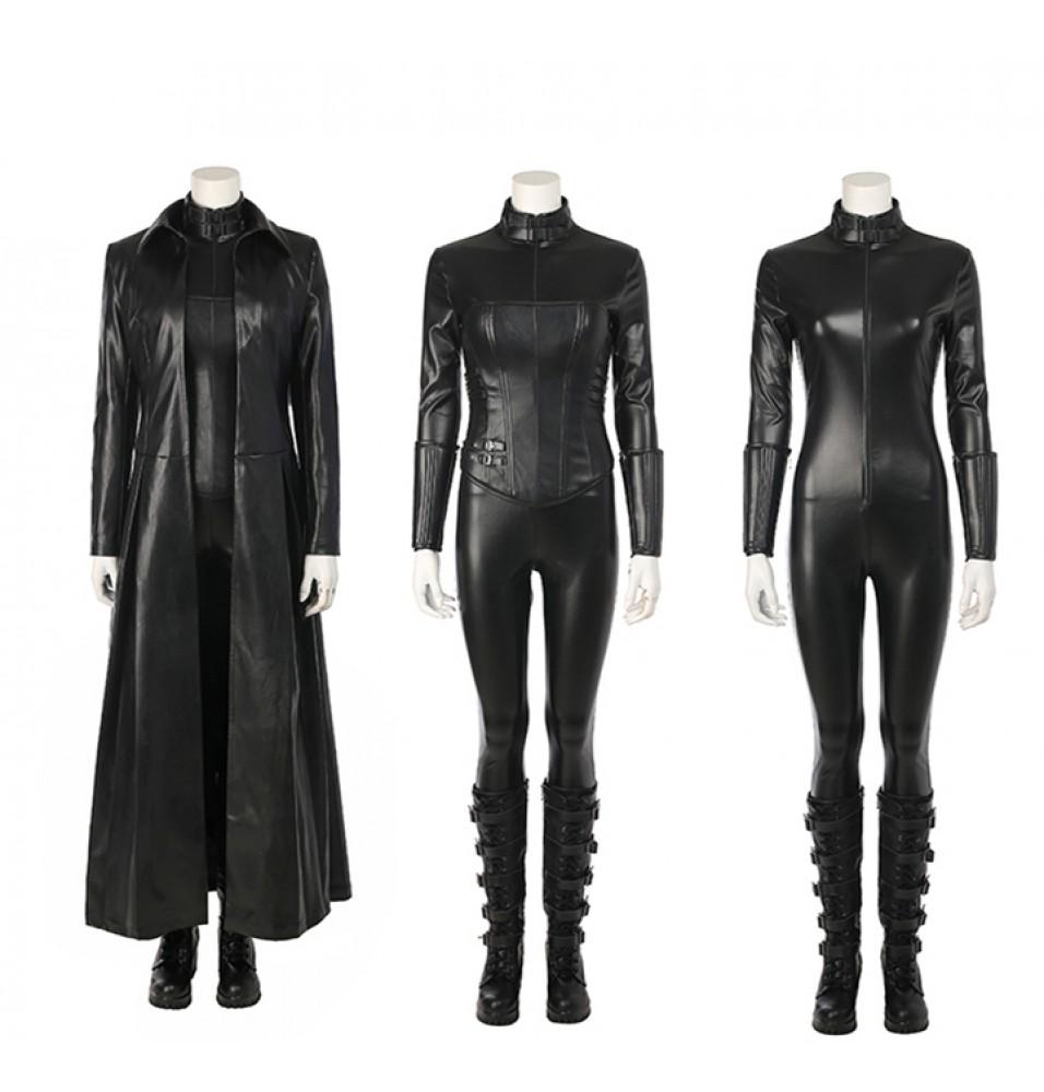 Underworld: Blood Wars The Vampire Female Warrior Selene Cosplay Costume Deluxe